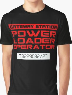 Power Loader Operator Graphic T-Shirt