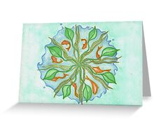 The Fish Mandala Greeting Card