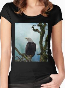 Eagle Art - Character Women's Fitted Scoop T-Shirt