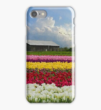 Flower Art - Hope Is iPhone Case/Skin