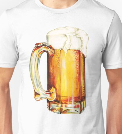 Beer Pattern Unisex T-Shirt