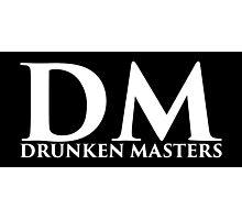 DM Logo (White Lettering) Photographic Print