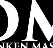 DM Logo (White Lettering) Sticker
