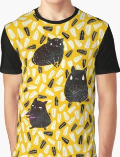 Seedy Hamsters Graphic T-Shirt