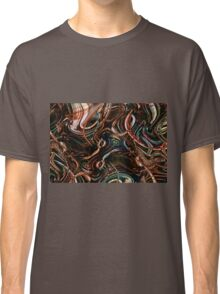 Psychedelic illusion. Fantastic illustration.  Classic T-Shirt