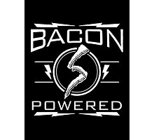 bacon powered Photographic Print