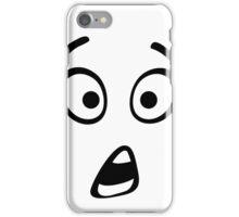 shocked face iPhone Case/Skin
