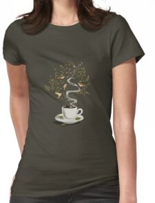 A Cup of Dreams Womens Fitted T-Shirt