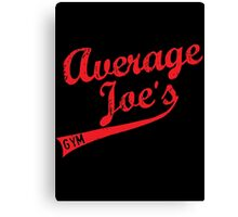 average joes Canvas Print