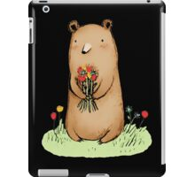 bear bouquet iPad Case/Skin