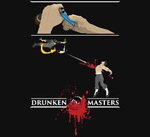 Drunken Ninja (White Lettering) Unisex T-Shirt