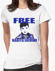 Free Nadiya Savchenko - ONE:Print Womens Fitted T-Shirt