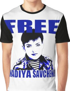 Free Nadiya Savchenko - ONE:Print Graphic T-Shirt
