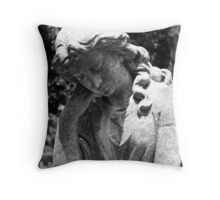 Restful Mourning Throw Pillow