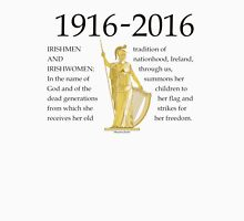 Irish 1916 Proclamation Centenary T-Shirt
