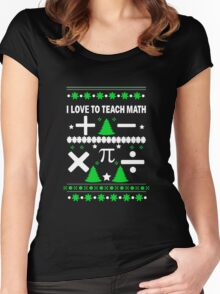 Math Fun T-shirt Women's Fitted Scoop T-Shirt