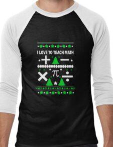 Math Fun T-shirt Men's Baseball ¾ T-Shirt