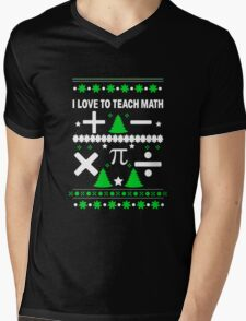 Math Fun T-shirt Mens V-Neck T-Shirt