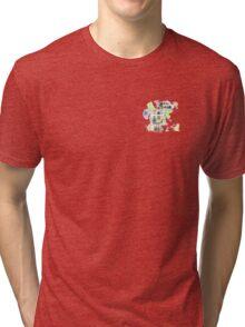 watercolour oil can Tri-blend T-Shirt