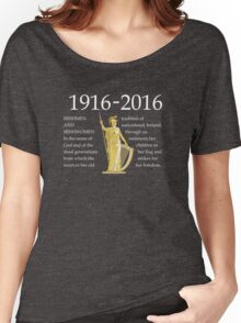 Irish 1916 Proclamation Centenary Women's Relaxed Fit T-Shirt