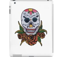day of the dead face iPad Case/Skin