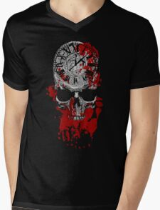 Time is Running Out Mens V-Neck T-Shirt