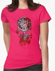 Time is Running Out Womens Fitted T-Shirt