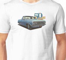 HR Holden Ute - 50th Anniversary - Lt Blue Unisex T-Shirt