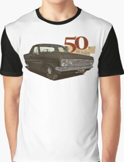 HR Holden Ute - 50th Anniversary - Black Graphic T-Shirt