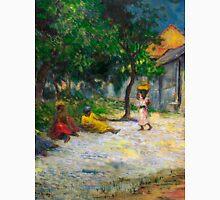 1887 - Gauguin - Village in Martinique (Femmes et Chevre dans le village) Unisex T-Shirt
