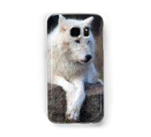Arctic Wolf Samsung Galaxy Case/Skin