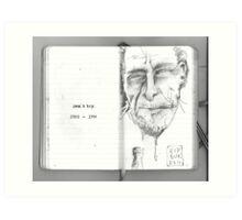 Bukowski, 1920 - 1994 Art Print