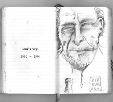 Bukowski, 1920 - 1994 by Bristol Noir