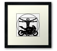 Da Vinci Bike Framed Print