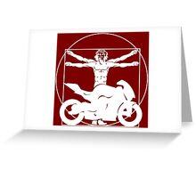 Da Vinci Bike Greeting Card