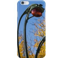 Famous Paris Metropolitain Sign with Golden Trees Background - Take Two iPhone Case/Skin
