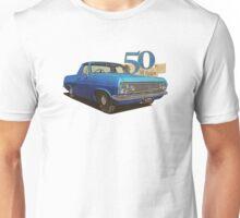 HR Holden Ute - 50th Anniversary - Met Blue Unisex T-Shirt