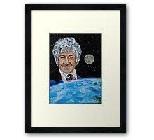 Third Doctor (Jon Pertwee) Framed Print