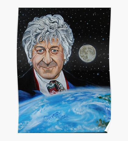 Third Doctor (Jon Pertwee) Poster