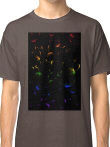 Dandelion Seeds Gay Pride (black background) Classic T-Shirt