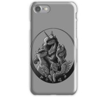 My Little Pony Princesses Grayscale iPhone Case/Skin