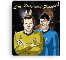 Star Trek - Kirk & Spock Canvas Print
