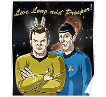 Star Trek - Kirk & Spock Poster