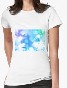 Bubble up Womens Fitted T-Shirt