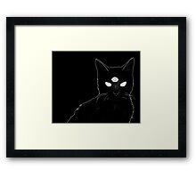 Cat x2 Framed Print