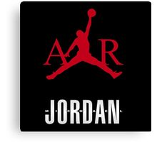 M Jordan air Canvas Print