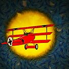 The Red Baron WW1 by Dennis Melling
