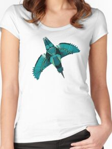 steampunk towers Women's Fitted Scoop T-Shirt