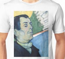 1888 - Gauguin -  Portrait of a man Unisex T-Shirt
