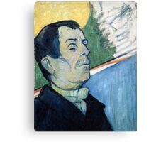 1888 - Gauguin -  Portrait of a man Canvas Print